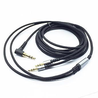 Ketdirect Audiokabel Für Sol Republic Master Tracks Hd V8 V10 V12 X3 Kopfhörer 3 5 Mm Auf 2 X 2 5 Mm Stecker Auf Stecker Geflochtenes Nylon Schwarz Audio Hifi