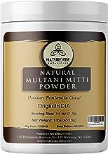 100% Pure & Natural Multani Mitti Powder | Fullers Earth Powder (Indian Bentonite Clay), 1lb by Naturevibe Botanicals, For...