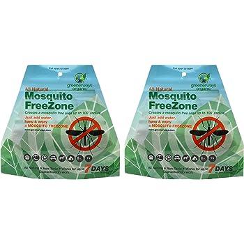Amazon.com : GREENERWAYS ORGANIC Mosquito Repellent Zone ...
