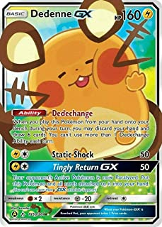Pokemon Dedenne GX Promo Alternate Art (from Trainer Toolkit) Sold and Shipped by Dan123yal Toys+