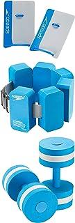 Speedo Unisex Swim Aqua Fitness Paddles, Barbells & Belt Set