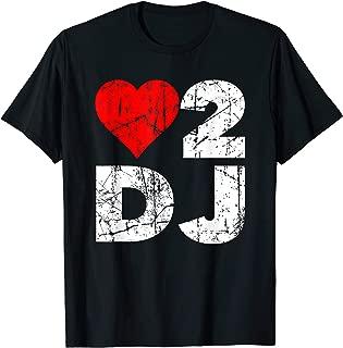 Best love to dj shirt Reviews