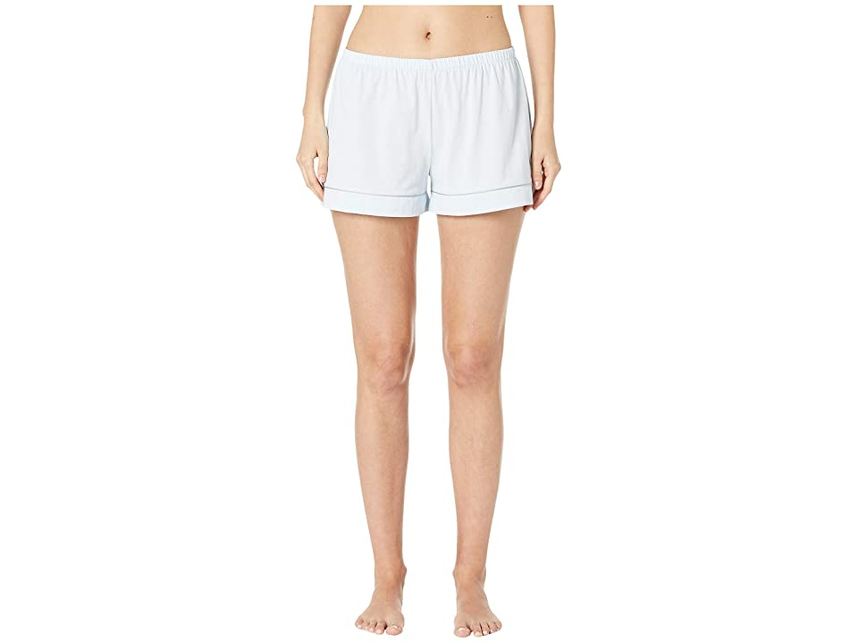 Skin Petra PJ Shorts (Sky Blue/Grey) Women