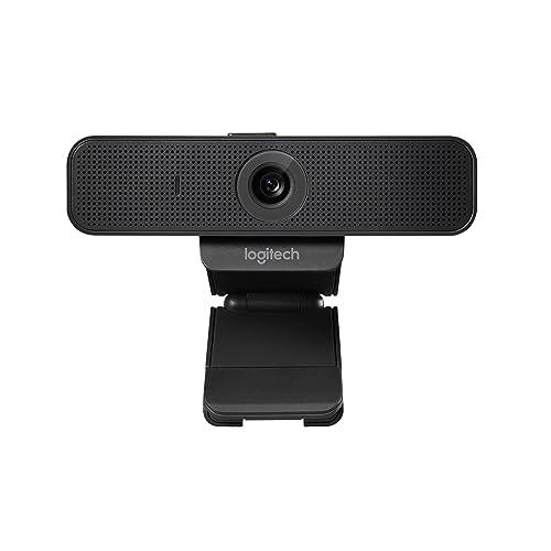 Logitech C925E Pro - Cámara Web (Full HD 1080p, Enfoque automático, USB,