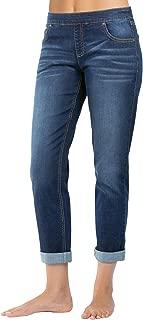 PajamaJeans Women's Stretch Knit Denim Boyfriend Jeans