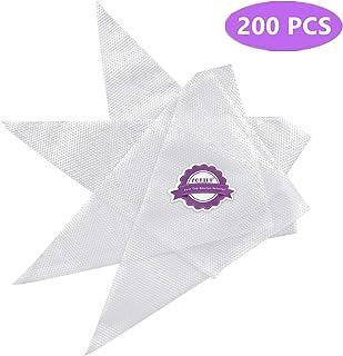 200pcs/set Disposable Pastry Bag Icing Piping Bag Cake Cupcake Decorating Bags