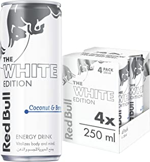Red Bull Energy Drink, Coconut and Berry, 250 ml (4pack)