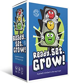 Learning Resources Growth Mindset Game for Boys Girls Teens | Card Games for Kids Ages | Family & Classroom Games | Cognit...