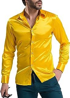 7c3e27de8cdb7 Amazon.fr : Or - Chemises / T-shirts, polos et chemises : Vêtements