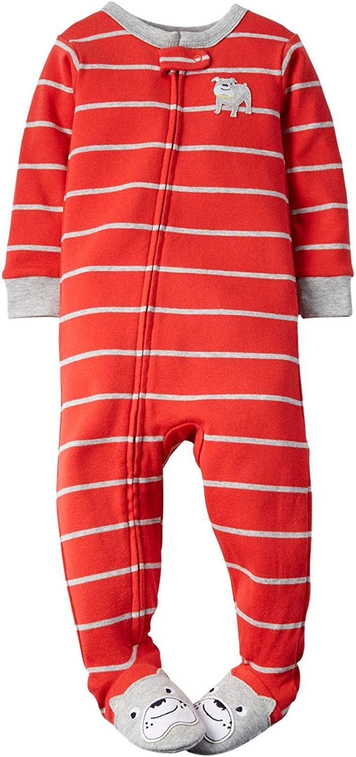 Carter's Special price 70% OFF Outlet Little Boys' Graphic Footie Toddler Kid