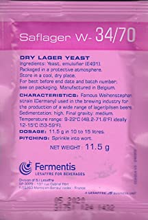 Fermentis Saflager W34/70 Dry Lager Yeast - 11.5g