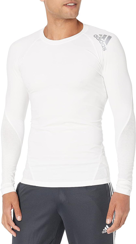 Free shipping on posting reviews adidas Men's Training Alphaskin Sleeve Sport Long Tee Trust