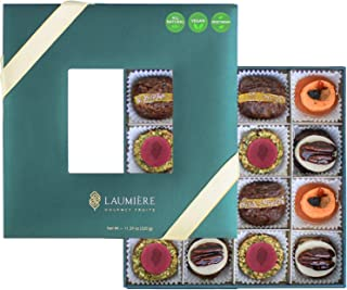 Laumière Gourmet Fruits | Le Cadeau Parfait Collection | Square Box | Gift Dried Fruit Baskets | Holiday Nut and Dried Fru...