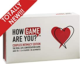 How Game Are You? Couples Relationship Edition - 203 Cards. Totally New Game with Questions & Activities to Help Expand Connection. Great Couples Game Cards, Couples Gift or as Date Night Cards.