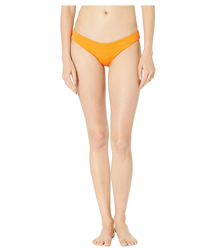 L*Space Clear Water Texture Sandy Bottoms (Tangerine) Women