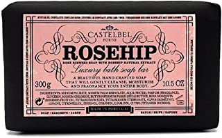 Castelbel Rosehip Rose Scented Soap with Rosehip Natural Extract - 10.5 oz