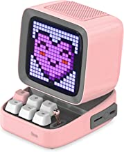 Divoom Ditoo Retro Pixel Art Game Bluetooth Speaker with 16X16 LED App Controlled Front..