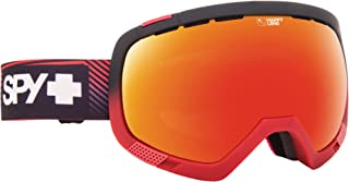 Spy Platoon Goggle with Happy Lens Stacked Red, One Size