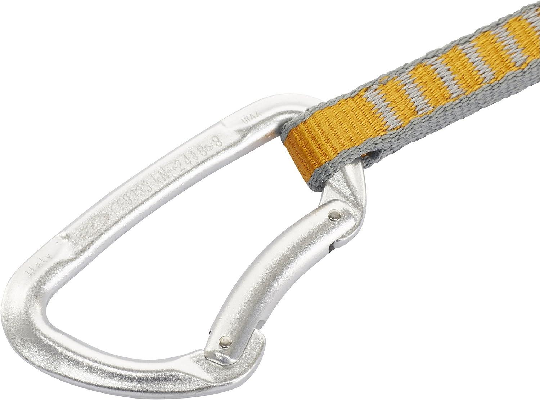 Climbing Technology Basic - Set de nailon no K-Lock, aplazamiento unisex para adulto, plateado, único