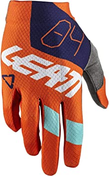 Leatt GPX 1.5 GripR Ultra-Light MX Offroad Gloves Red//Lime