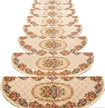 JIAJUAN Stair Carpet Treads Non-Slip Self-Sticking Solid Wood Stairs Step Pads, 5 Styles, 4 Sizes, Customize (Color : A-1 ...