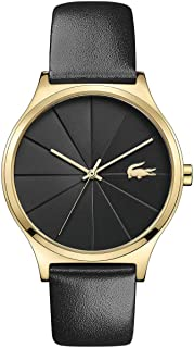 Lacoste Womens Quartz Watch, Analog Display and Leather Strap 2001041