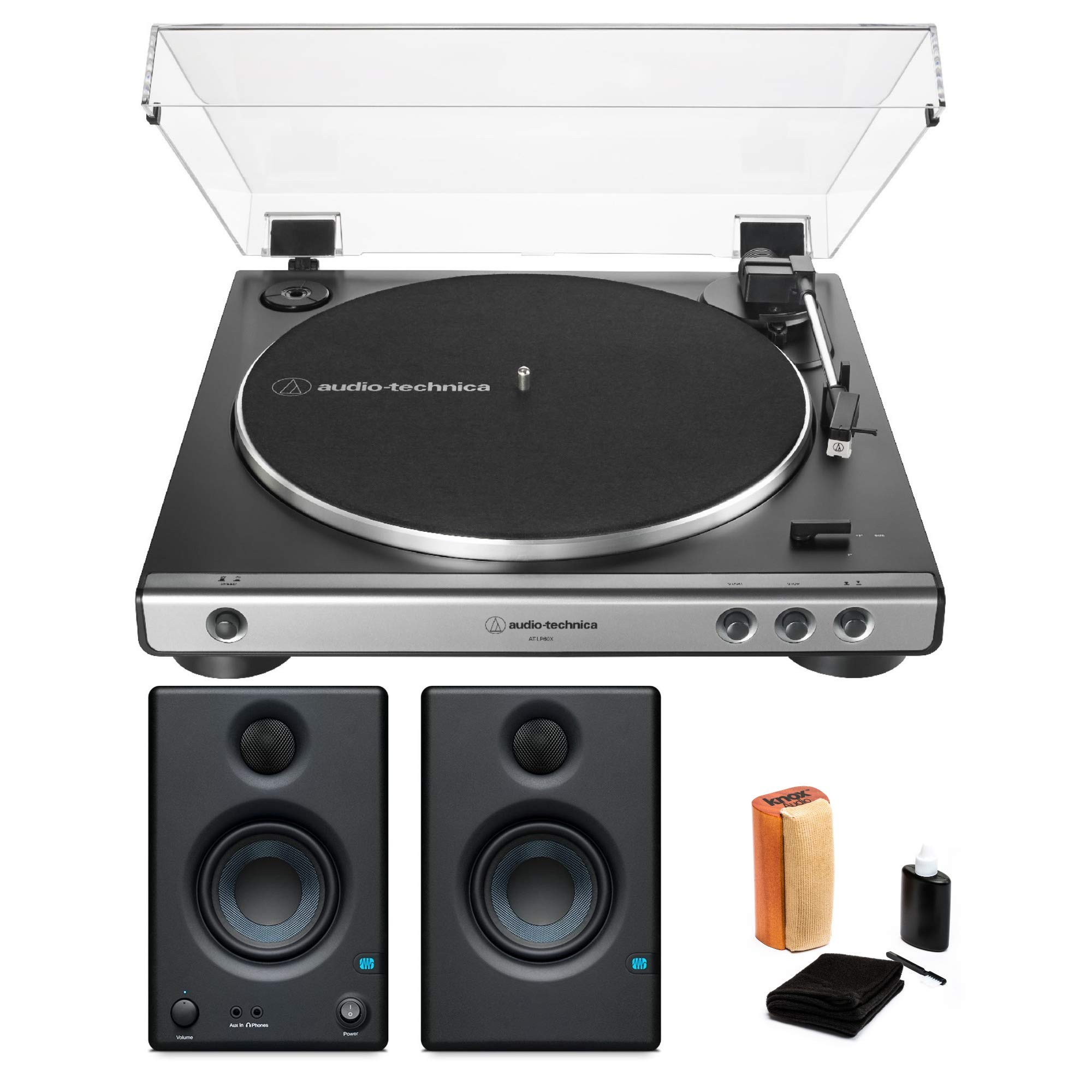 Audio Technica AT LP60X Automatic Belt Drive Turntable