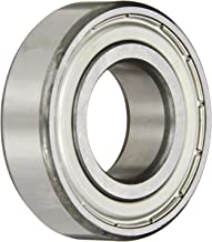 SKF 6205-Z Radial Bearing, Single Row, Deep Groove Design, ABEC 1 Precision, Single Shield, Non-Contact, Normal Clearance, Standard Cage, 25mm Bore, 52mm OD, 15mm Width