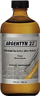 Argentyn 23® Professional Formula Bio-Active Silver Hydrosol for Immune Support* – 8 oz. (236 mL) Twist Top Bottle – Collo...