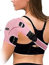Doctor Developed Shoulder Support / Shoulder Strap / Shoulder Brace [Single] & Doctor Written Handbook - Relief for Should...