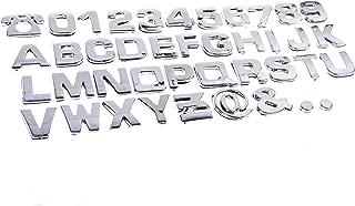 auto emblem letters