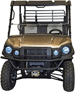 Kawasaki Mule Windshield - Pro FX/DX Series Full Folding - SCRATCH RESISTANT - The Ultimate in SXS Versatility!Premium poly w/Scratch Resistant Hard CoatMade in America!!