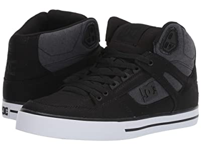 DC Pure High-Top WC (Black Dark Used) Men