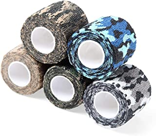Adhesive Tapes Outdoor Waterproof Camouflage Nonwoven Fabric Hunting Disguise Adhesive Tapes
