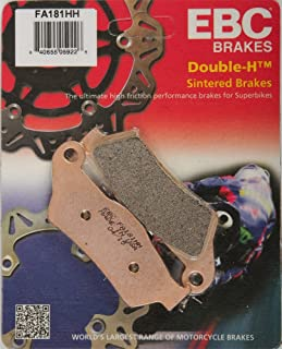 EBC Brake Pads 2017 Ducati Multistrada 950 Urban Disc Brake Pad Set, FA181HH