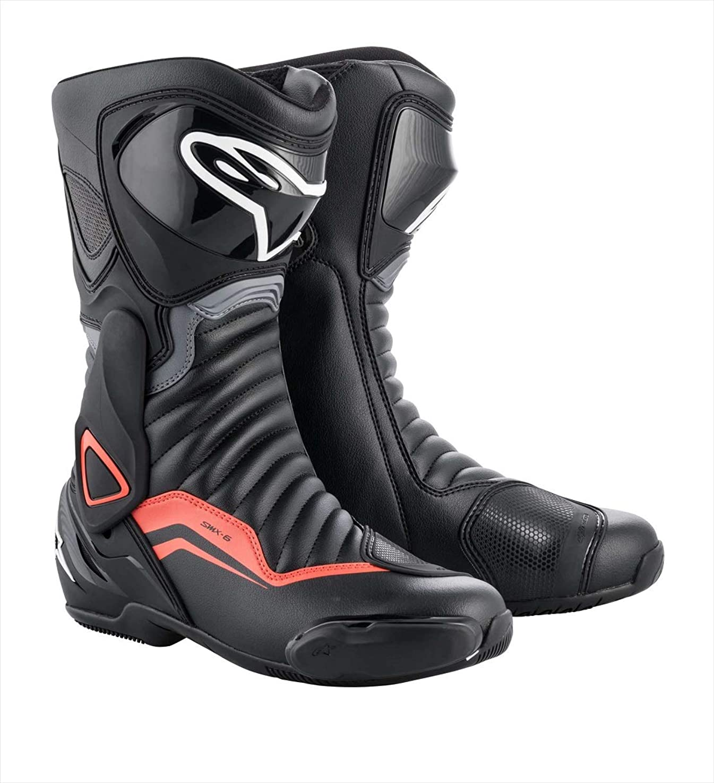 トロリー怠なシマウマalpinestars(アルパインスターズ) バイクブーツ ブラック/グレー/レッドフロー 43/27.5cm SMX6(エスエムエックス6)V2ブーツ(222 3017) 1691460743