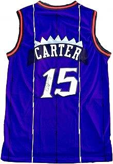 Vince Carter Autographed Jersey - Beckett BAS - Beckett Authentication - Autographed NBA Jerseys