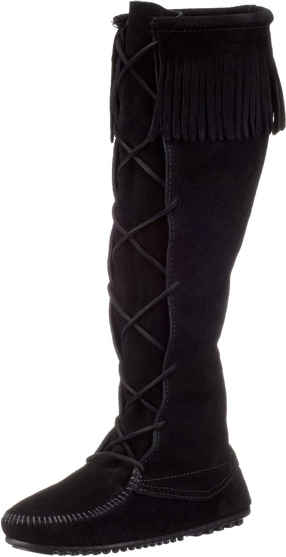 Minnetonka Women's Front Lace Knee High Boots