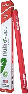 NutroVape Energy   Caffeine Inhaler & Energy Drink Alternative   No Sugar, No Nicotine, Organic Pen   Refreshing Peppermint Flavor