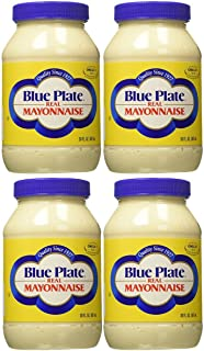 Blue Plate Real Mayonnaise, 30 Ounce (4 Pack)
