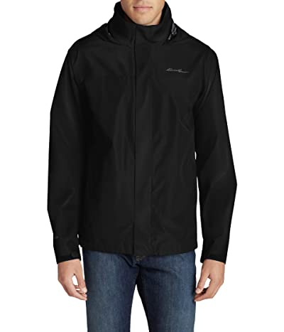 Eddie Bauer Packable Rainfoil Jacket (Black 1) Men