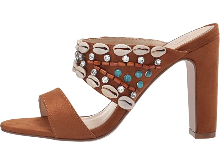 Jessica Simpson Ambelle Artisan Brown Heels