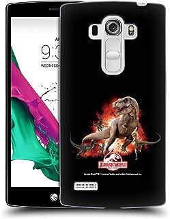 Official Jurassic World T-Rex VS. Velociraptors Key Art Hard Back Case Compatible for LG G4 Beat / G4s / G4 s / H735