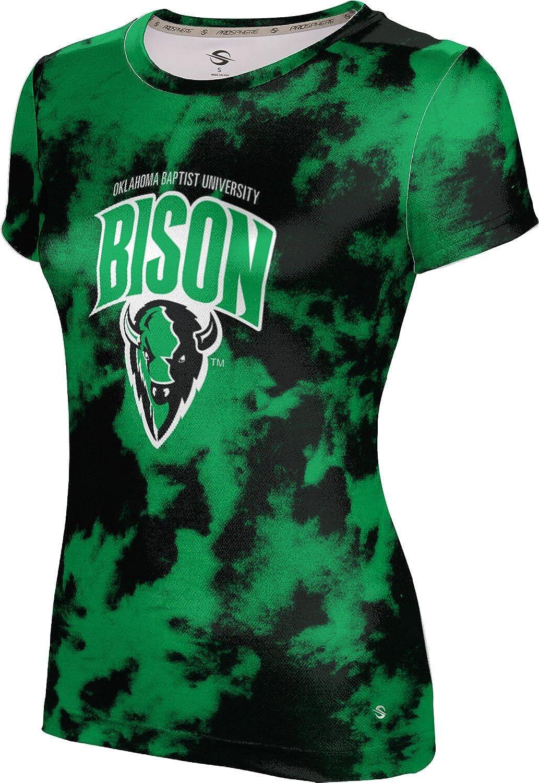 ProSphere Oklahoma Baptist University Girls' Performance T-Shirt (Grunge)