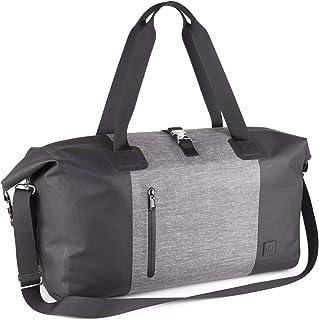 The Friendly Swede wasserdichte Weekender Reisetasche Handgepäck - Laptopfach 15 Zoll, Stylische Duffle Bag, Modernem Design Tasche - Unisex für Damen und Herren - HÅGA 30L