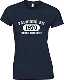 Tim And Ted French Womens Tshirt Fabriqu En 1970 Pices D'origine