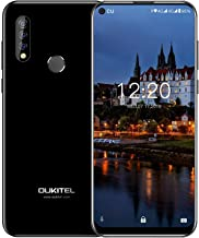 OUKITEL C17 Pro Unlocked Smartphone, 4+64GB Triple Camera Dual SIM Unlocked Cell Phone with Octa-Core 3900mAh 6.35 Inches ...