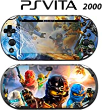 Skin Decal Cover Sticker for Sony PlayStation PS Vita Slim (PCH-2000) - Lego Ninjago