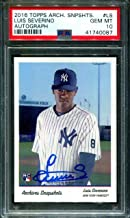 2016 Topps Archive Snapshot Auto #ls Luis Severino Rc #/100 10 B2706607-087 - PSA/DNA Certified - Baseball Slabbed Autographed Cards