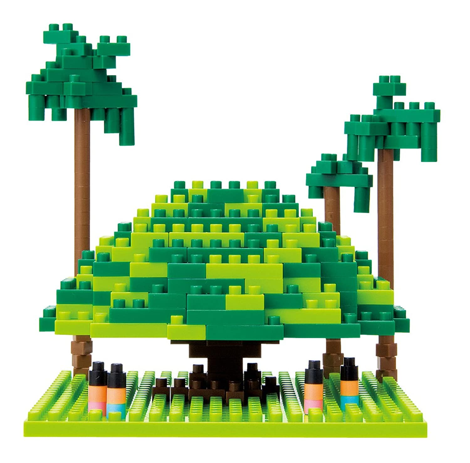 nanoblock Giant Banyan Tree 南国の大きな木
